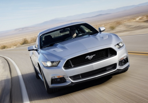 FORD Mustang Fastback I coupe silver grey przedni