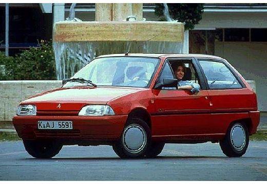 CITROEN AX I hatchback czerwony jasny przedni lewy