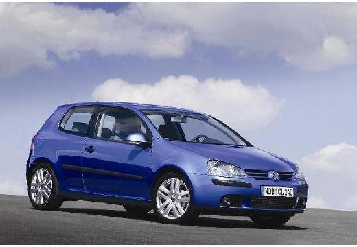 VOLKSWAGEN Golf V hatchback niebieski jasny przedni prawy