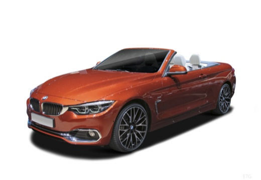 BMW 440i xDrive Luxury Line aut Kabriolet Cabrio F33/F83 3.0 326KM (benzyna)