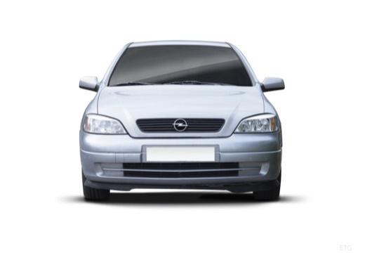 OPEL Astra II hatchback silver grey przedni