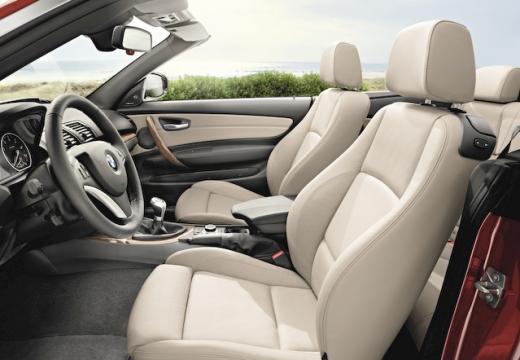 BMW Seria 1 kabriolet wnętrze