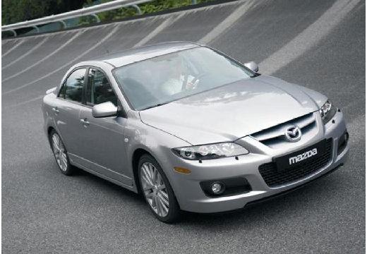 MAZDA 6 II sedan silver grey przedni prawy