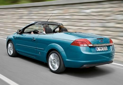 FORD Focus CC I kabriolet niebieski jasny tylny lewy