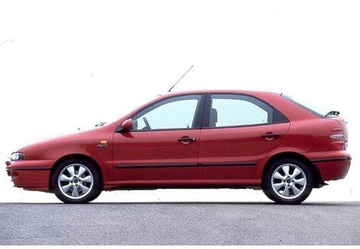 FIAT Brava hatchback czerwony jasny boczny lewy