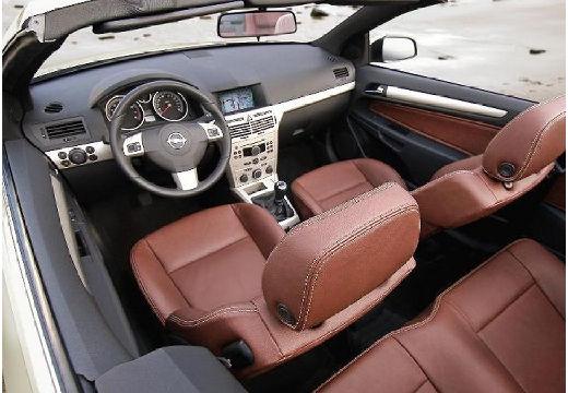 OPEL Astra TwinTop kabriolet silver grey wnętrze