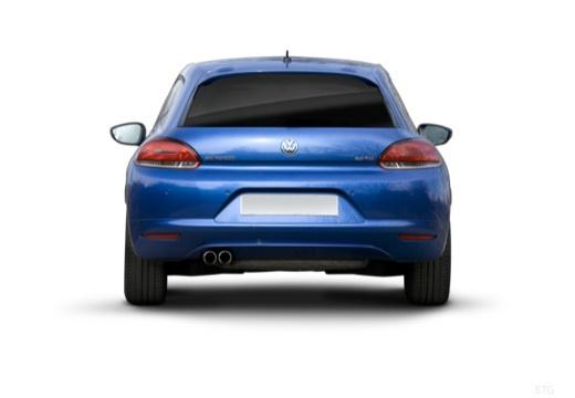 VOLKSWAGEN Scirocco III I coupe niebieski jasny tylny