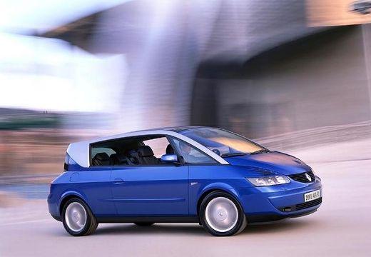 RENAULT Avantime hatchback niebieski jasny przedni prawy