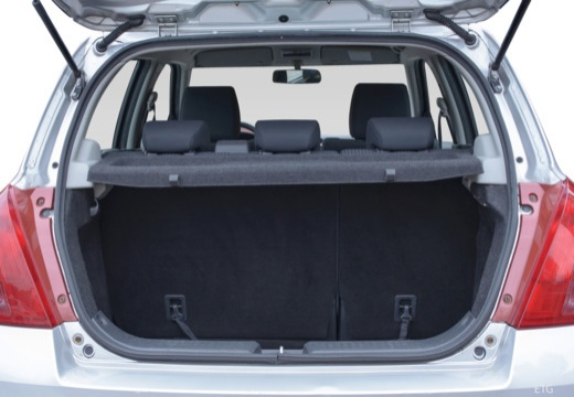 SUZUKI Swift I hatchback przestrzeń załadunkowa