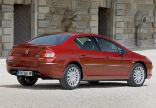PEUGEOT 407 sedan czerwony jasny tylny prawy