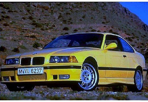 BMW Seria 3 coupe żółty przedni lewy