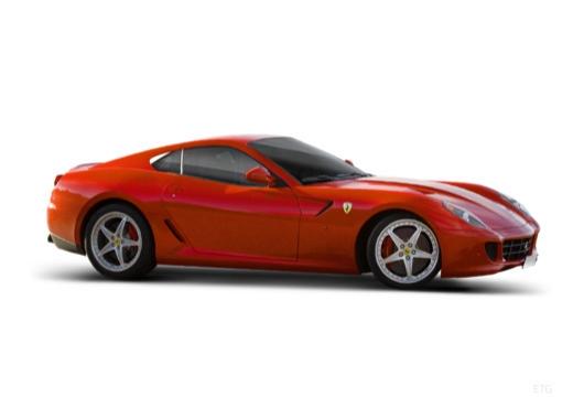 FERRARI 599 I coupe czerwony jasny boczny prawy