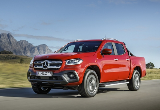 MERCEDES-BENZ Klasa X Pickup