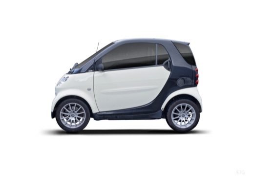 SMART fortwo city/ coupe boczny lewy