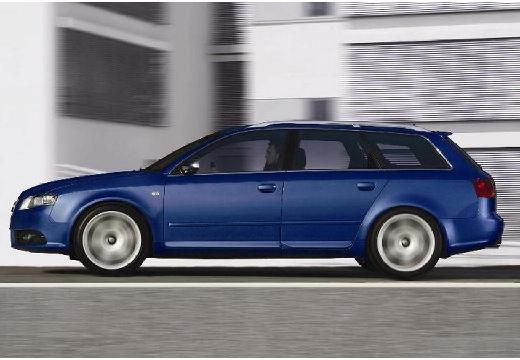 AUDI A4 Avant 8E II kombi niebieski jasny boczny lewy