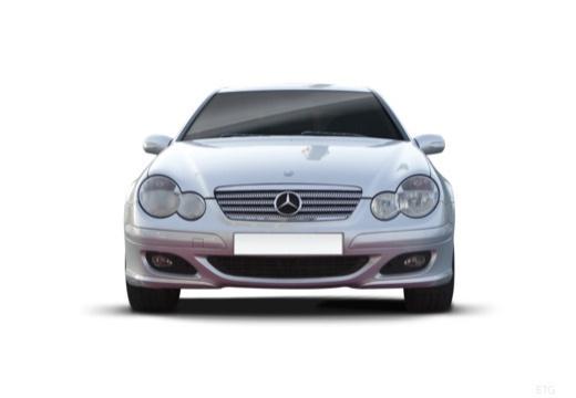 MERCEDES-BENZ Klasa C Sport CL203 II coupe przedni