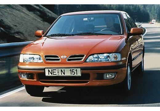 NISSAN Primera hatchback brązowy przedni lewy