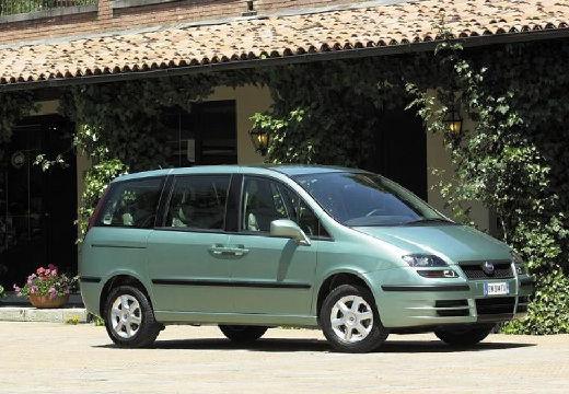 FIAT Ulysse van zielony jasny przedni prawy