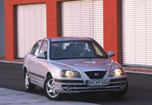 HYUNDAI Elantra II sedan silver grey przedni prawy