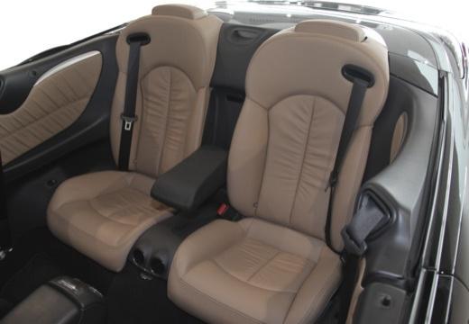 MERCEDES-BENZ Klasa CLK CLK Cabriolet A 209 II kabriolet wnętrze