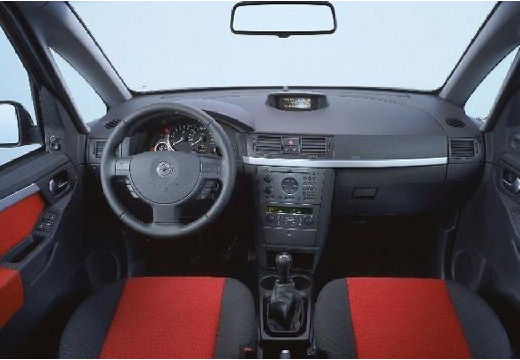 OPEL Meriva II hatchback tablica rozdzielcza
