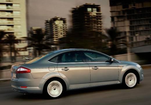 FORD Mondeo VI sedan silver grey boczny lewy