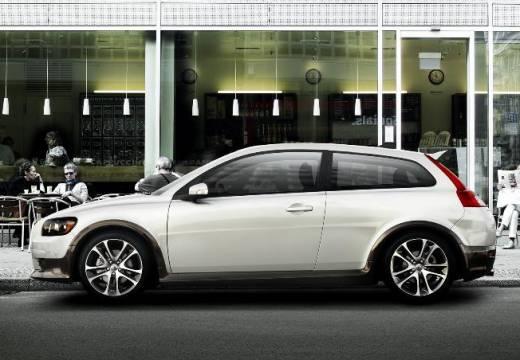 VOLVO C30 I hatchback biały boczny lewy
