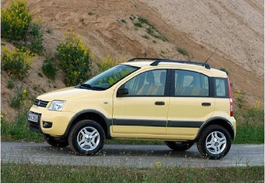 FIAT Panda II hatchback żółty przedni lewy