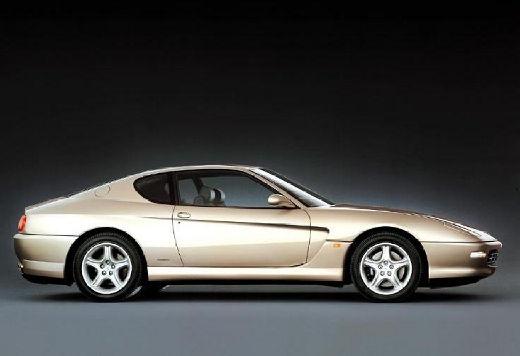 FERRARI 456 coupe szary ciemny boczny prawy