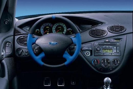 FORD Focus II hatchback niebieski jasny tablica rozdzielcza
