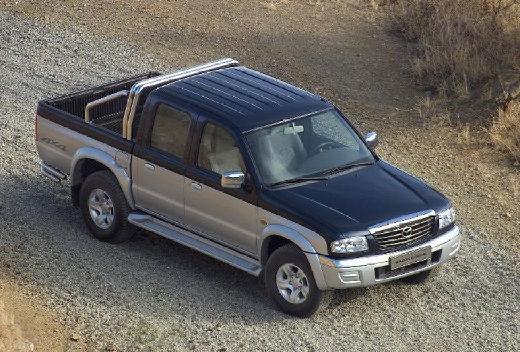MAZDA B-seria B 2500 II pickup szary ciemny przedni prawy