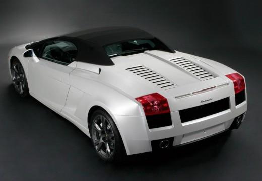 LAMBORGHINI Gallardo Spyder I roadster biały tylny lewy
