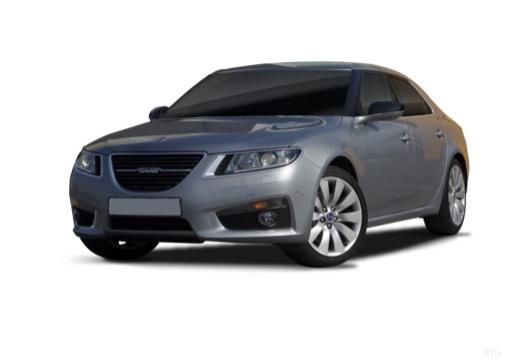 SAAB 9-5 IV sedan szary ciemny przedni lewy