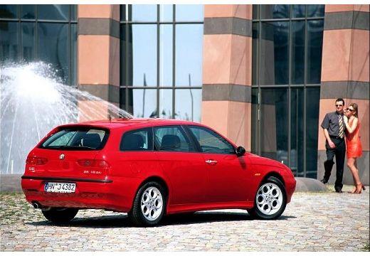 ALFA ROMEO 156 Sportwagon I kombi czerwony jasny tylny prawy