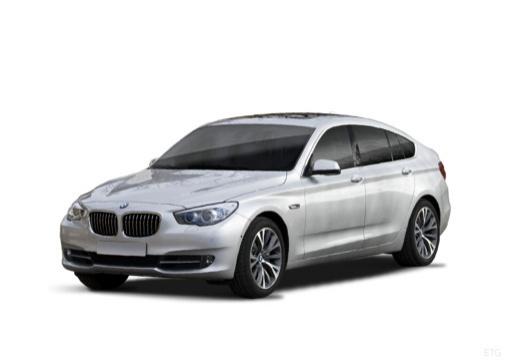 BMW Seria 5 Gran Turismo F07 I hatchback silver grey przedni lewy
