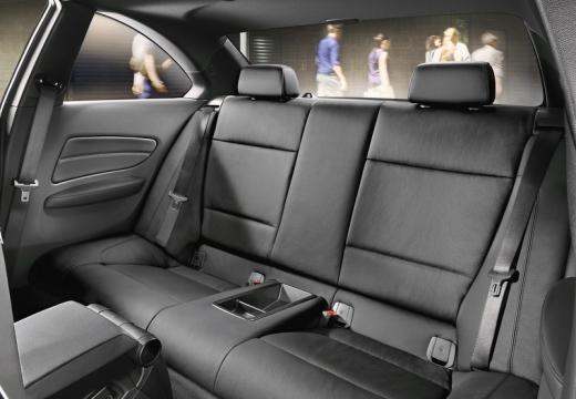 BMW Seria 1 coupe wnętrze