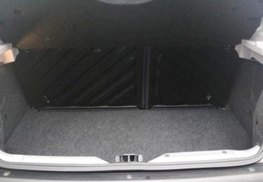 PEUGEOT 206 I hatchback przestrzeń załadunkowa