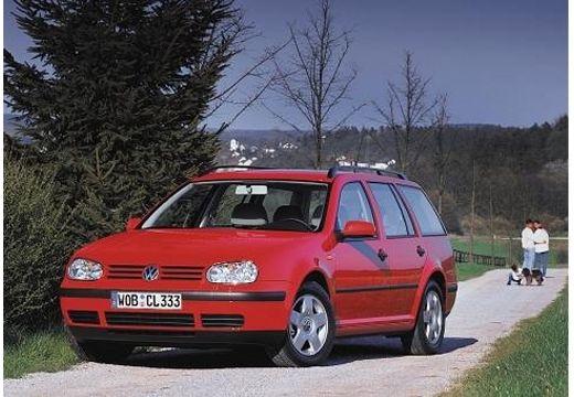 VOLKSWAGEN Golf IV Variant kombi czerwony jasny przedni lewy