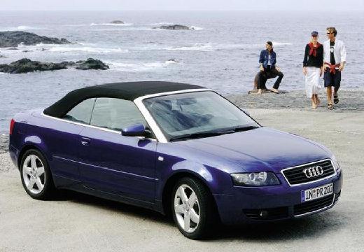 AUDI A4 Cabriolet 8H I kabriolet niebieski jasny przedni prawy