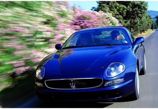 MASERATI 3200 coupe niebieski jasny przedni lewy