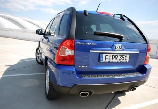KIA Sportage IV kombi niebieski jasny tylny lewy