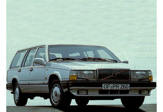 VOLVO 760 kombi silver grey przedni prawy