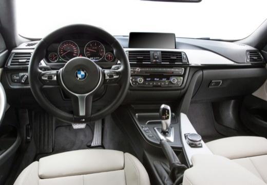 BMW Seria 4 F32 coupe tablica rozdzielcza