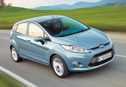 FORD Fiesta hatchback niebieski jasny przedni prawy