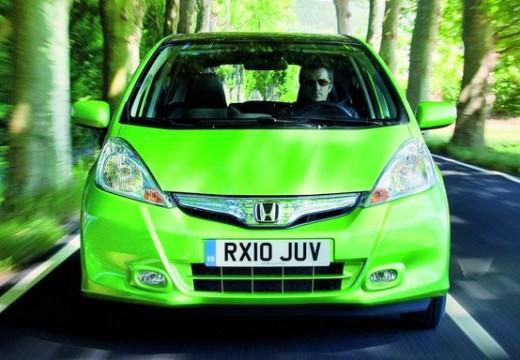 HONDA Jazz hatchback zielony przedni