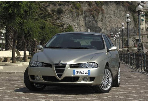 ALFA ROMEO 156 sedan silver grey przedni lewy