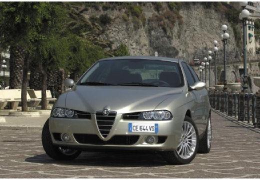 ALFA ROMEO 156 III sedan silver grey przedni lewy