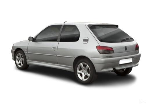 PEUGEOT 306 hatchback tylny lewy