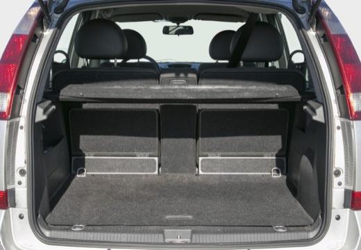 OPEL Meriva II hatchback przestrzeń załadunkowa