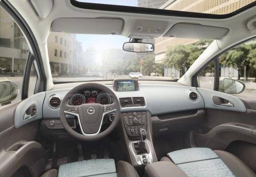 OPEL Meriva III hatchback tablica rozdzielcza